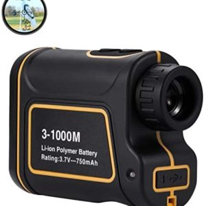 Abdtech Golf Range Finder 656Yards, USB Rechargeable Rangefinder with Flag Pole Lock Range Speed Scan Mode for Hunting Golf Course Hiking Climbing, Compact Laser Rangefinder Easy to Use for Outdoor