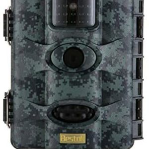 Bestok Trail Game Camera 16MP 1080P Waterproof Hunting Scouting Cam Motion Activated Night Vision 65ft/20m No Glow IR LEDs for Wildlife Monitoring