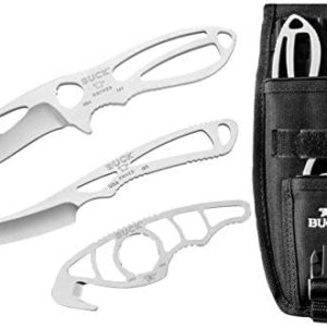 Buck Knives 141 PakLite Field Master Kit Knives with Skinner, Caper, and Guthook