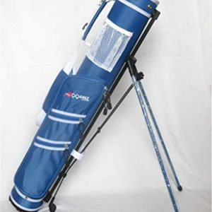 C9 II A99 Golf Practice Sunday Range Pencil Carry Stand Bag Removable Top Blue