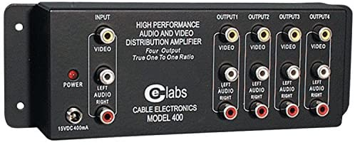 Cable Electronics Labs AV 400 Prograde Composite A/V Distribution Amplifiers