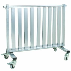 CanDo 10-0581 Dumbbell, Mobile Studio Rack, 1100 lb, Capacity,Gray