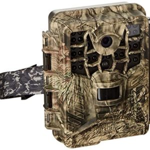 Covert Black Maverick Trail Camera Full HD1080P Weatherproof Wildlife Game Camera with No Glow LEDs for Wildlife and Home Security Watching, Password Protected
