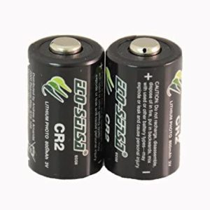 Eco-Sensa CR2 Lithium Battery - High Performance CR2 Battery, 10 Years of Shelf Life (2 Count2)