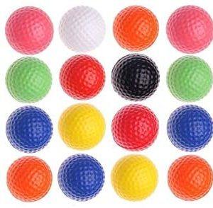 Fanovo Foam Golf Balls - Practice Golf Balls - Kid Golf Balls - Pet Balls, Light Soft Elastic Training Multifunction Sport Balls