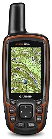 Garmin GPSMAP 64s Worldwide with High-Sensitivity GPS and GLONASS Receiver-(Renewed)