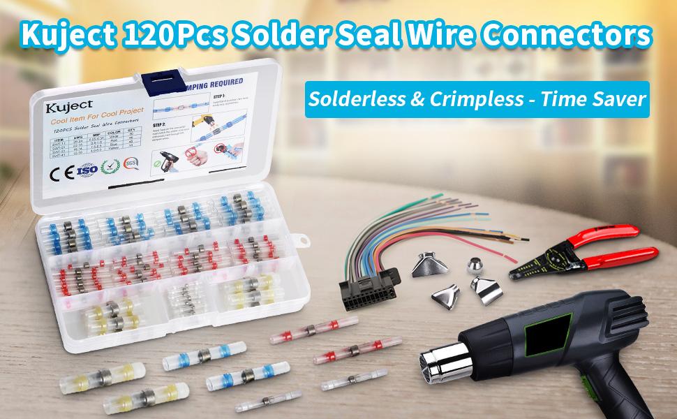 Solderless & Crimpless Wire Connectors