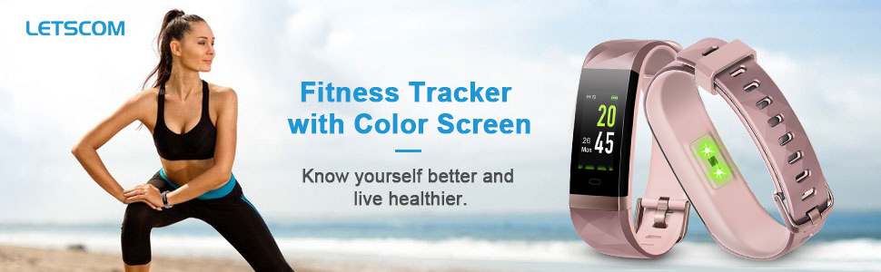 Fitness Tracker Heart Rate Monitor Activity Tracker Watch