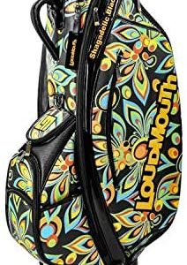 Loudmouth New Shagadelic Black 9 Inch Staff Golf Bag