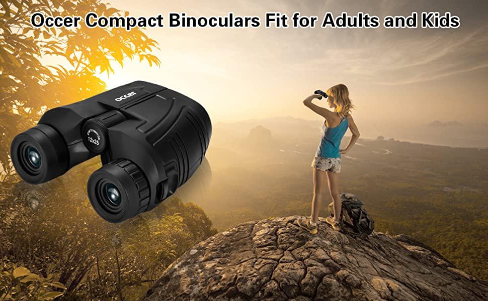 High power binoculars fit for women