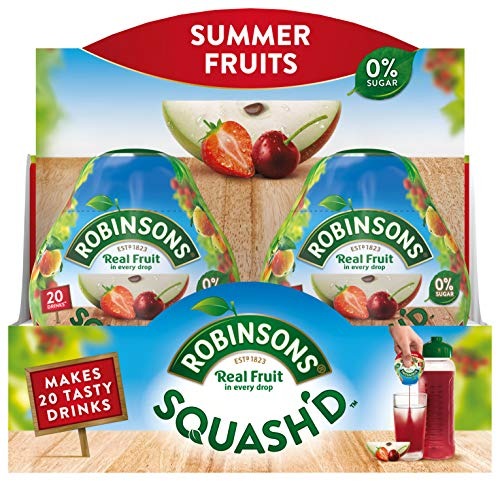 Robinsons Squash'd Summer Fruits NAS (66ml) (Single Pack)