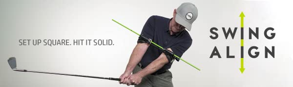 Golf Swing Trainer, Golf Swing Aid, Golf Instruction, Golf, Swing Align, Golf Alignment