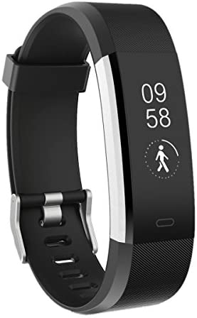 TOOBUR Fitness Tracker Watch, Waterproof Activity Tracker with Pedometer Heart Rate and Sleep Monitor,Step Calorie Counter Wristband Smart Watch for Android and iOS