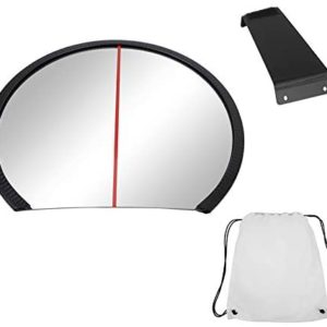 VGEBY Golf Wide Angle Posture Calibration Mirror, Golf Swing Putting Training Equipment