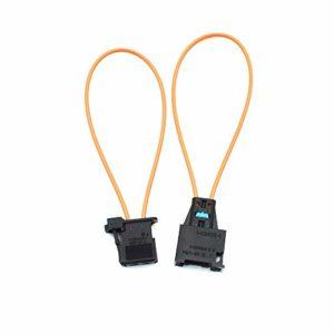 Yoohey Fiber Most Optical Optic Loop Bypass Male Female Adapter 2pcs