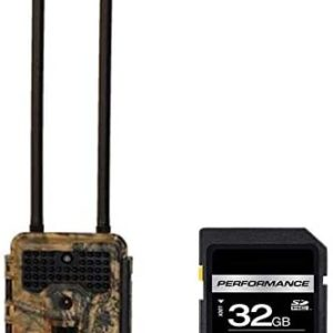 Covert Scouting Cameras E1 AT&T Trail Camera 5595 with SD 32 GB Card